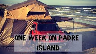 Beach Camping - Paḋre Island National Seashore