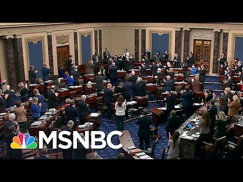 Senate Applauds Officer Eugene Goodman, Will Award Him Congressional Gold Medal | MSNBC
