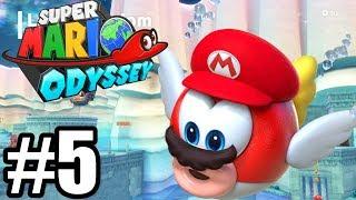 PODWODNE WOJAŻE - Let's Play Super Mario Odyssey #5 [NINTENDO SWITCH]