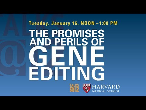Talks@12: The Promises and Perils of Gene Editing