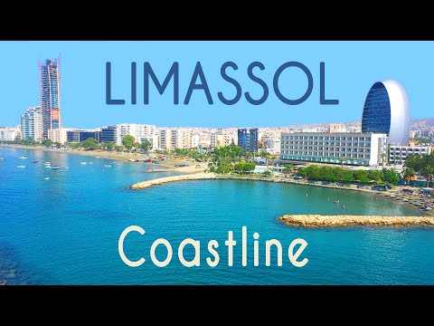 all-limassol-beaches-2020-|-11-km-of-coast-|-drone-review-cyprus