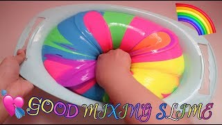 WOAAWWWESOME AMAZING COLOR MIXING SLIME SUPER FANTASTIC AND FULL COLOR - MIX MIX UPDATE #5