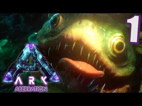 Ark Aberration #1 Der zerstörte Ark | Let's Play Deutsch || Gameplay German