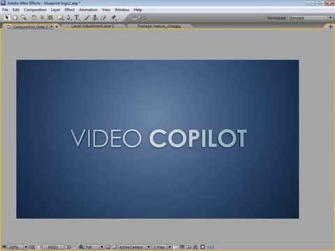 After Effect _ Blueprint Reveal