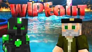 EL MAPA MÁS LOCO!! WIPEOUT | Minecraft Race Map