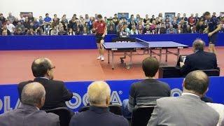 Utkání reprezentace stolního tenisu ČESKO vs. POLSKO 11.4. Klatovy