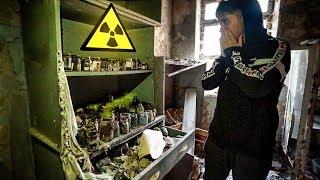 NUNCA DEBIMOS ENTRAR AQUÍ.. **ENCONTRAMOS ORGANOS** VISITANDO MORGUE EN CHERNOBYL [Shooter] thumbnail