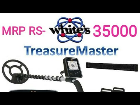 WHITES TREASURE MASTER GOLD DETECTOR AIR TEST IN INDIA