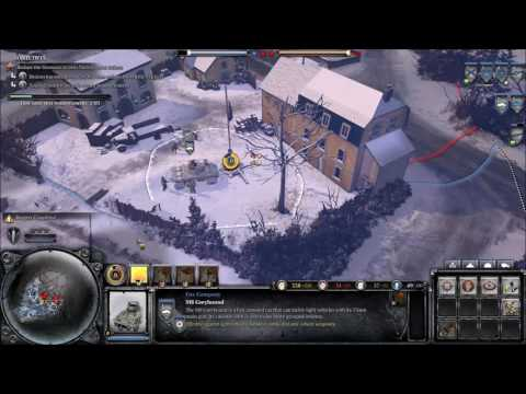 Sin plays ... Company of Heroes 2 - Ardennes Assault,  Marche ! |