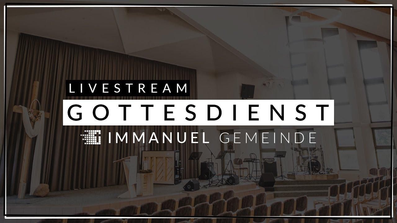 LIVE | 12. September - 10 Uhr | Gottesdienst der Immanuel