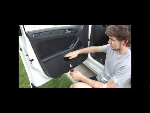 How To: 2011 Jetta Door Panel Removal - Front and Rear
