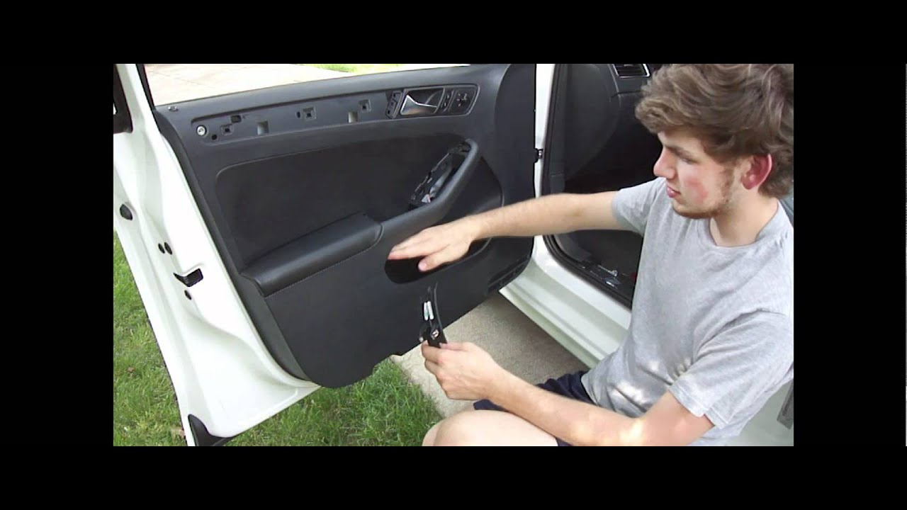 How To 2011 Jetta Door Panel Removal Front And Rear