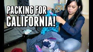 PACKING FOR CALIFORNIA! - November 29, 2017 -  ItsJudysLife Vlogs