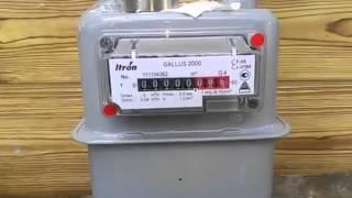 Как остановить счетчик газа галлус 2000 неодимовым магнитом. тел. 8-968-702-25-52(, 2014-04-15T17:30:38.000Z)