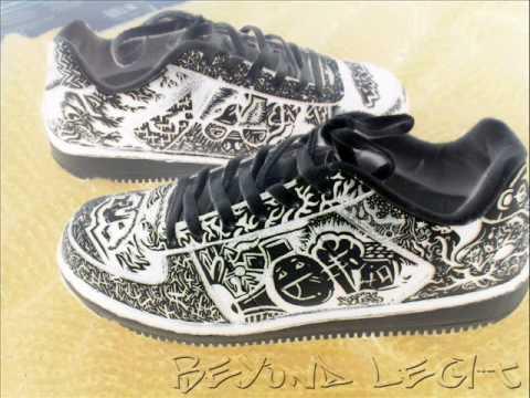 2521eb93c7 Custom Graffiti Shoes - YouTube