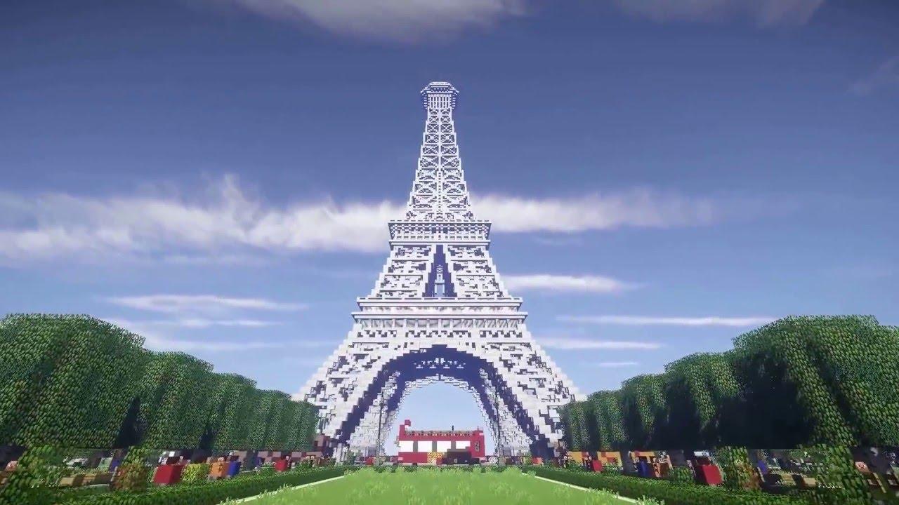 Tháp Eiffel + Download // Minecraft Maps