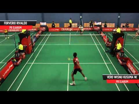 Forverio Rivaldo (PB DJARUM) VS Vero Wisnu Kusuma Wardana (PB DJARUM)