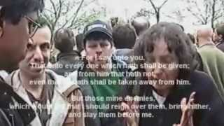 I can see your horror re-uploaded Hyde Park Speakers corner