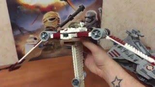 Ретро обзор LEGO Star Wars V-19 Torrent 7674