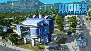 Cities Skylines - Стратегическая канатная дорога! #9