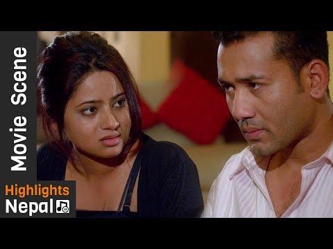 बुढोले टाइम दिन नसकेपछी | Nepali Movie BITEKA PAL Scene 2017/2074 | Keki Adhikari, Babu Bogati