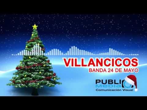 VILLANCICOS NAVIDEÑOS BANDA 24 DE MAYO 2018 mix-DESCARGA GRATIS mp3-ECUADOR