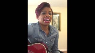"""Wanna Be Happy"" Kirk Franklin Courtney Chay Cover"