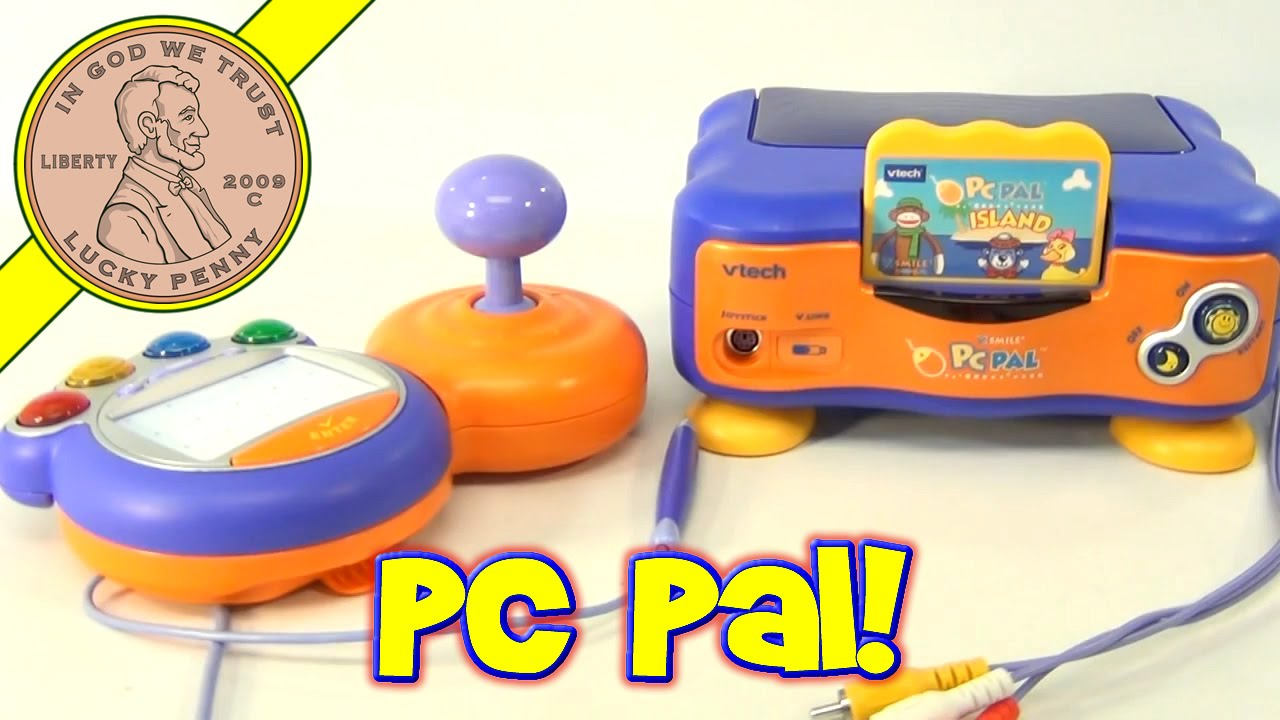vtech vsmile electronic tv learning system pc pal island game rh youtube com VTech V.Smile TV Learning System VTech Game System