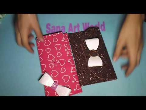 How to make fomic sheet clutch bags fomic sheet clutch for Fomic sheet decoration youtube