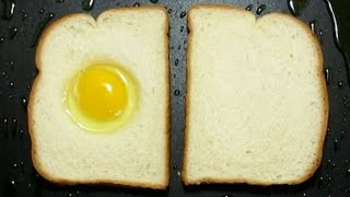 EGG-IN-THE-HOLE TOAST (BY CRAZY HACKER)