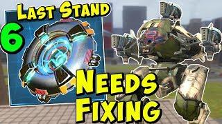 Last Stand Module Vs War Robots - Max Level Module Hangar Experiment WR