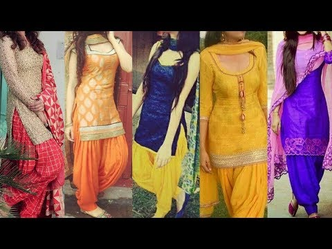 Top 20 Panjabi Patiyala Salwar Kameez/suits/kurta/kurti Designs 2017 || Panjabi Dresses Designs