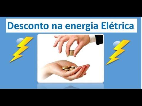 Resultado de imagem para desconto na energia eletrica