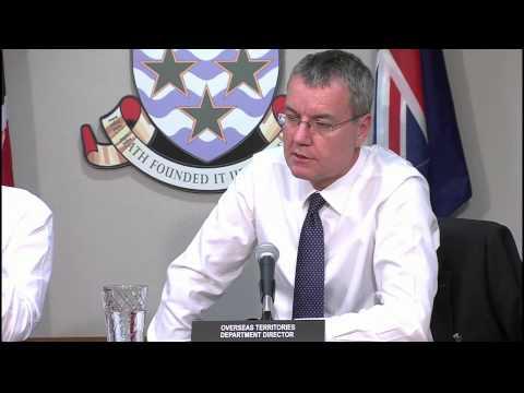 Visit by Director of Overseas Territories Dept of FCO