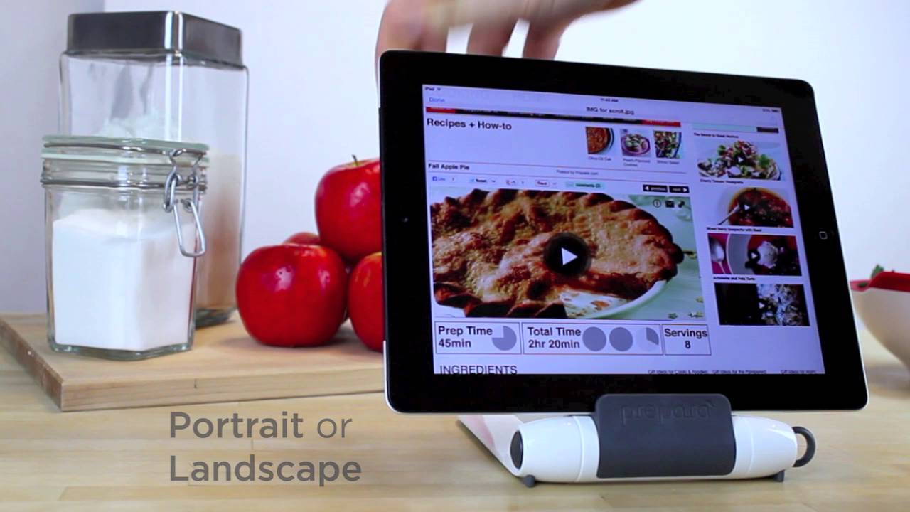 support pour tablette i prep sp cial cuisine youtube