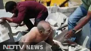With 60-year-old still inside, authorities demolished his home thumbnail