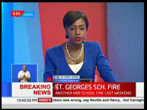 Developing story : St. Georges girls school on fire