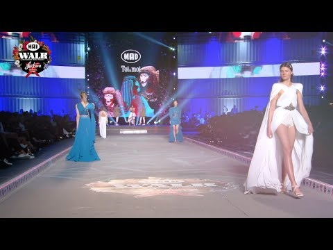 Toi & moi στο MadWalk 2019 by Serkova Crystal Pure