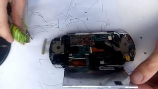 ремонт PSP. не працюють кнопки залипли кнопки на sony psp 2000