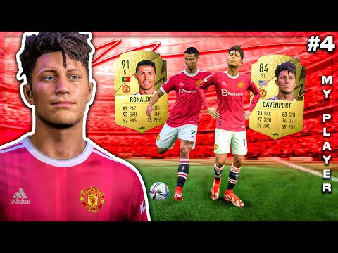 I Join CR7 and SIGN for MAN UNITED! 📝 - FIFA 22 My Player Story Mode! (Ep. 4)