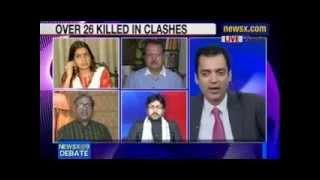 Maulana Dr. Yasoob Abbas Saheb In News-X Debate On Muzaffarnagar Communal Violence Mp3 Yukle Endir indir Download - INDIRMP3.RU