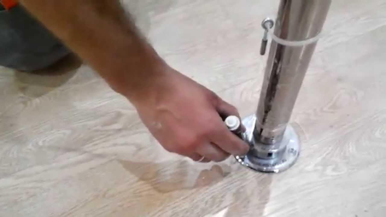 Как сделать пилон для танцев своими руками