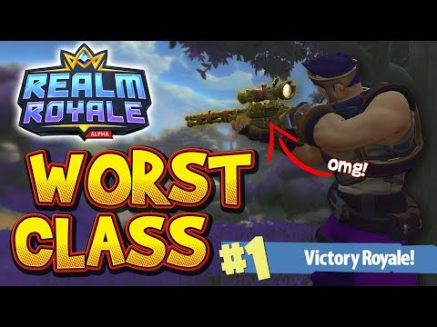 Realm Royale - The Worst Class | Assassin Gameplay (Squads)
