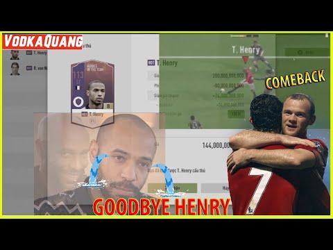 Bán cầu thủ tâm huyết Henry HOT +8 đưa về cặp đôi Song Sát Rooney Ronaldo Team MU, Quang liệu có sai