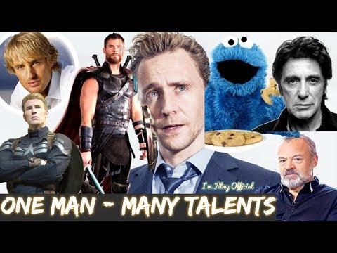 Tom Hiddleston Hilarious Celebrity Impressions  Try Not To Laugh 2018