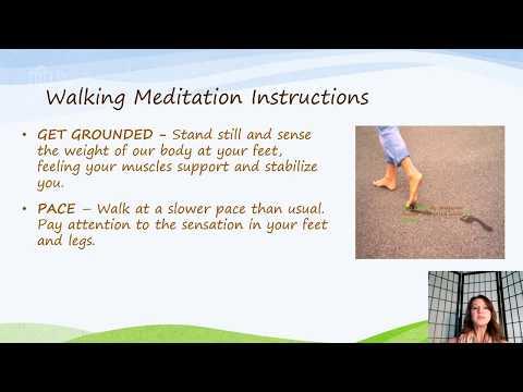 DeSales Wellness -Walking Meditation for Mindfulness