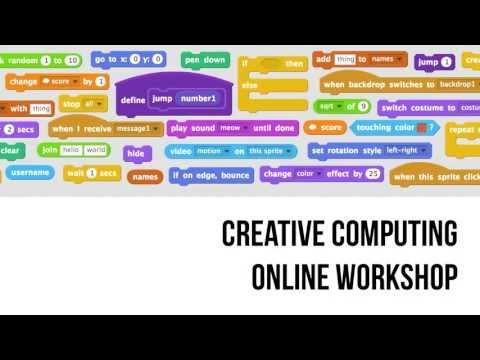 Creative Computing Online Workshop