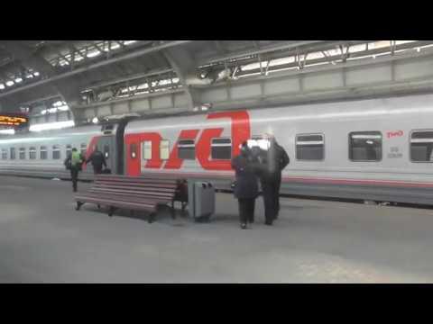 Отправление со станции Калининград-Пассажирский