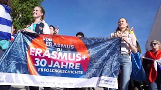 30 Years of Erasmus Flagmob ESN Vienna thumbnail
