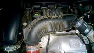 Ruido motor 207 gti motor en caliente
